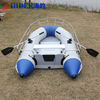 pvc Inflatable fishing boat aluminum floor inflatable boat for sale