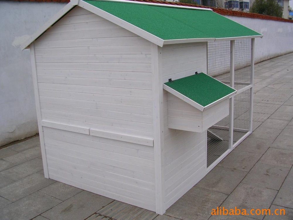 Eco-Friendly outdoor wooden layer chicken cage for sale