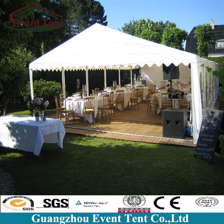 Guangzhou Outdoor Marquee PVC White Wedding Tents For Sale With Church Windows