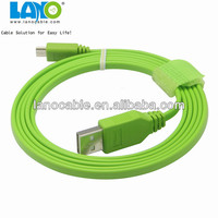 Hot selling fabric textile micro usb to usb cable