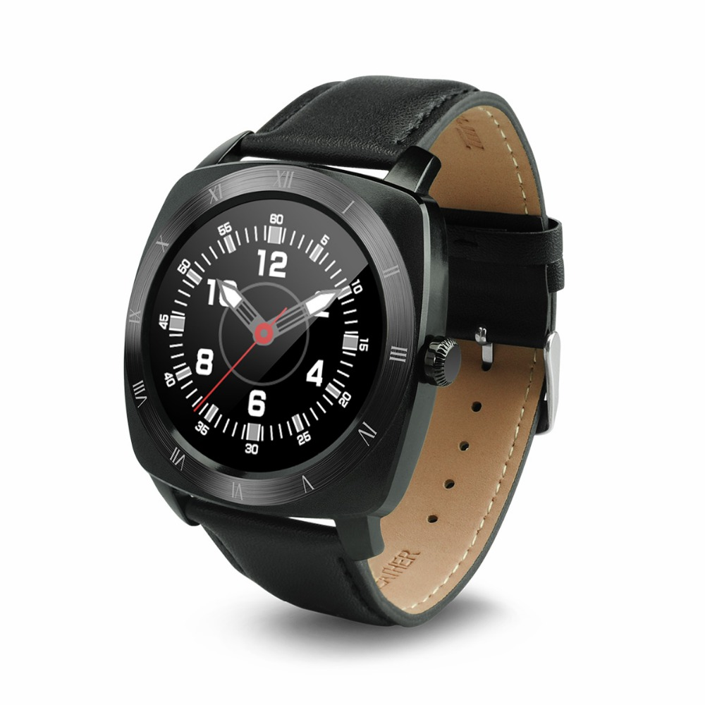 Round Heart rate monitor MTK 2502 Mobile Smart watch phone