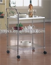 kitchen storage cart, furniture