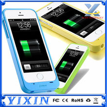 With FCC,CE,ROHS 2400mAh 3 in 1 battery charger cases for iPhone 5 5S 5C