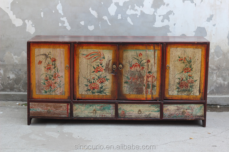 Chinese Antique Shabby Recycled Wood Furniture