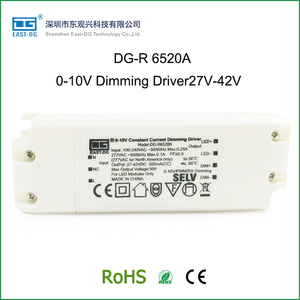R6520A 8W 10W 15W 18W 20W 24W 0-10V dimming led driver pwm constant current led dimmable driver