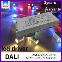 2500mA 24V 60w constant voltage AC input One channel DALI led driver