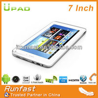 7-inch 3G Tablet PC/MID, MTK 6577 Dual core 1.2G/Google's Android 4.1/512MB RAM/Wi-Fi Android 3G Tablet PC