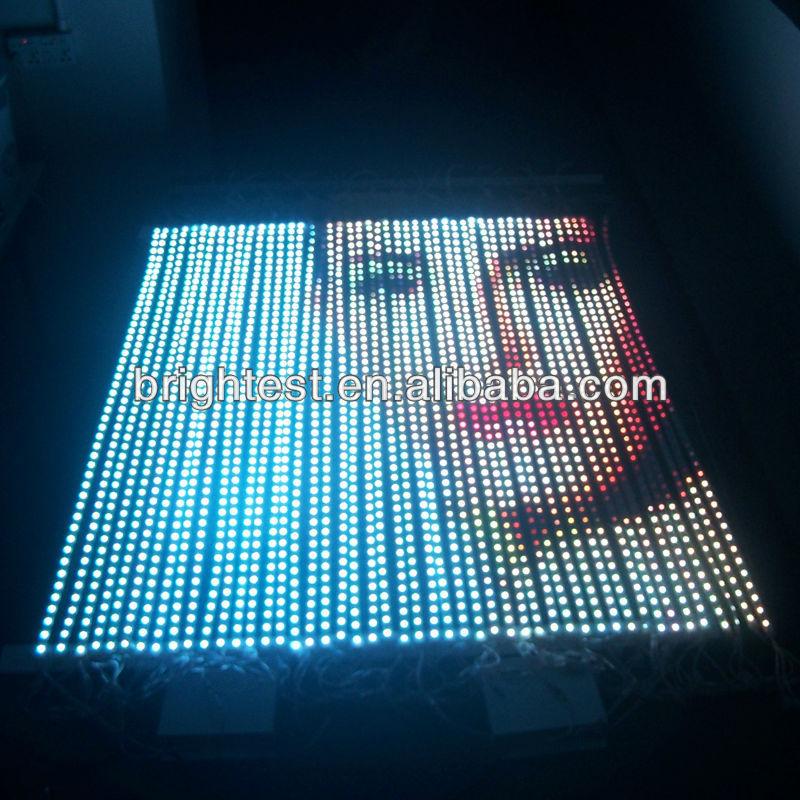 Экран из светодиодных лент своими руками 17