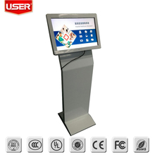 32 inch floor stand bill payment kiosk with touch screen
