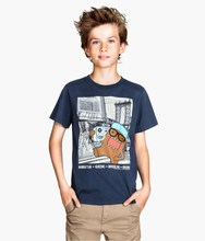 Boys fashion tshirt with Printed Design