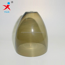 blowing clored glass lamp shades for sale