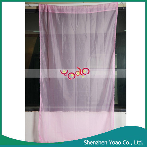 New Gradual Lace Rainbow Colored Curtain for Windows