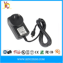 AC/DC 12V 1A 2A 3A wall plug power adapter supply new products 2016 charger