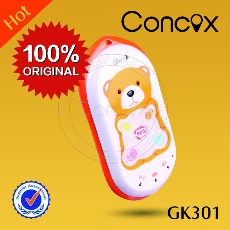 phone with senior phone fm/ big button GK301 for kids realtime tracking
