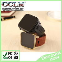 Slim design android 4.0 smart watch 3g wrist watch phone video calling+GPS+WiFi