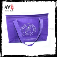 Recycled foldable bag with zipper, tote bag, supplier zipper pp nonwoven bag