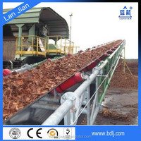 Polyester Cotton Conveyor belt for Truck,wood chip,stone crusher,soil,ceramic industry