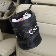 Eastony Pop Open Collapsible Trash Can for Car