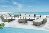 Sofa BP-819C outdoor PE rattan wicker Leisure furniture