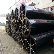 stkm13a plastic painted dn125 steel pipe with inside and outside made in Tianjin ,China