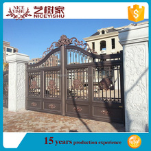 High quality newest design ideas for aluminum gate/yard gates/fence gate