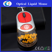 wired usb liquid gift mouse for promotional events