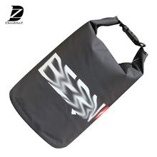 waterproof floating dry bag with dual shoulder strap