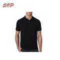 Dry Fit Lifeline Black Men's Polo Shirt