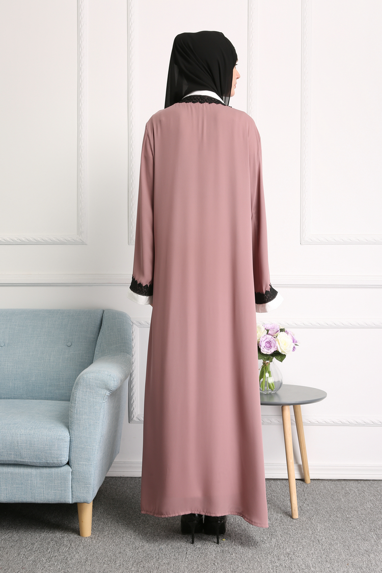 Dresses Styles for Women Long Dress Polyester Islamic Clothing Abayas
