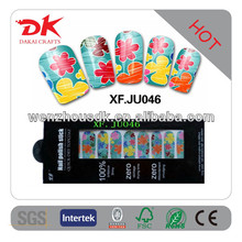 Sample Free Hot Sale 3D Crystal Glitter Nail Sticker