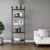 Industrial style  5-Tier Ladder Bookshelf Storage Rack Plant Stand for home and office