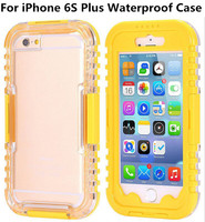 New Waterproof Case For iPhone 6S Plus Diving Underwater Clear Screen Cover Mobile Phone Pouch