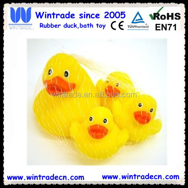 Yellow duck family/duck toy set