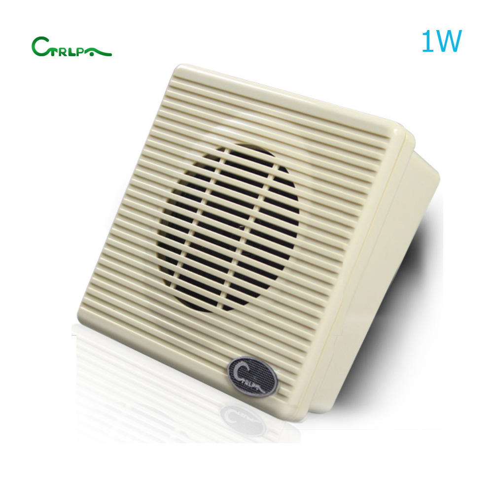CTRLPA CL959 3inch 1W professional public address system used pa mini wall mount speaker for indoor