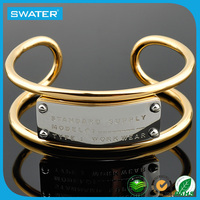 2016 New Products Fashion Jewellery Fashion Designs Mens Solid Gold Bracelets