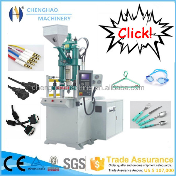 Hydraulic Cylinder Vertical Plastic Injection Molding Machine