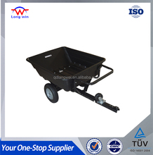 Poly Tray Powder Coated Body Camping ATV Trailer