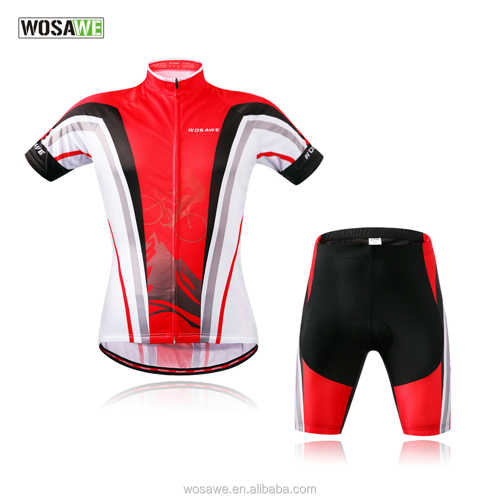 Wosawe <strong>Cycling</strong> Sets Top Quality <strong>Cycling</strong> Jersey and <strong>Cycling</strong> Shorts 2016