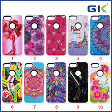 [GGIT] Wholesale Painting Design Epoxy Skin 2 in 1 TPU+PC Combo Case For IPhone 7