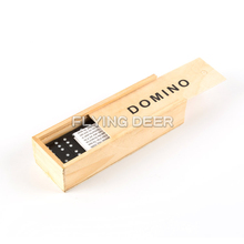 Educational Kids Block Toy Wooden Domino