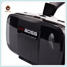 Winnho Factory OEM VR Boss 3D glasses All In One VR Box with headphone and microphone