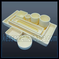 High precision conical Alumina Crucible