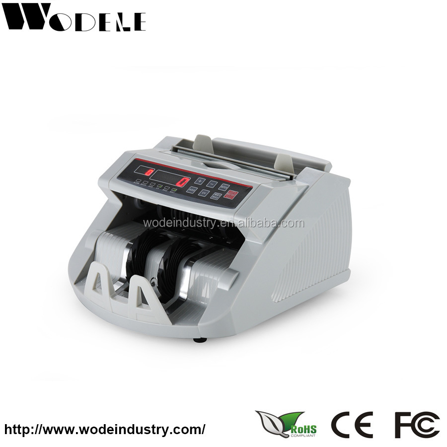 WD-770K cheap banknote counter /counterfeit money counting machine /bill counter with counterfeit detection