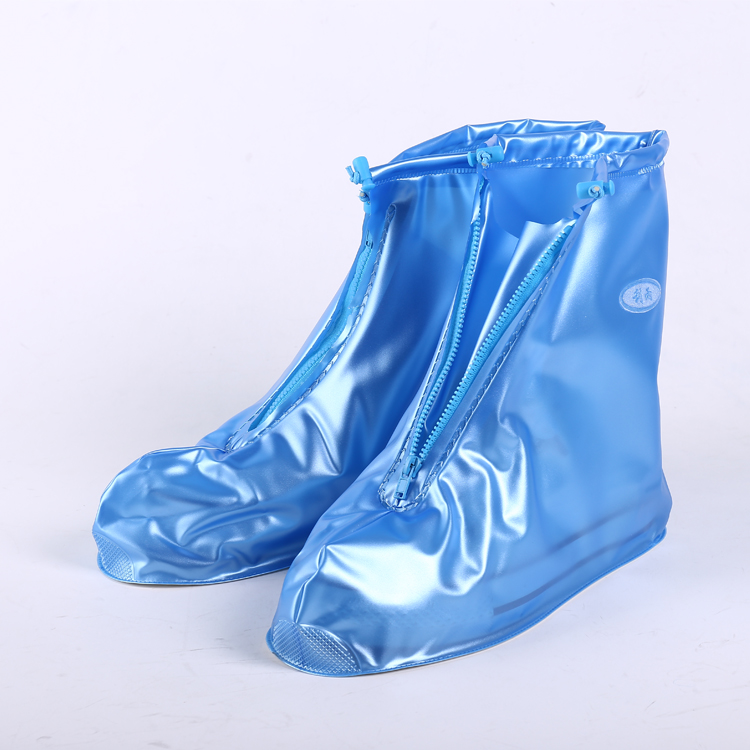 China Women wear-resist waterproof plastic rain shoe cover XXXL