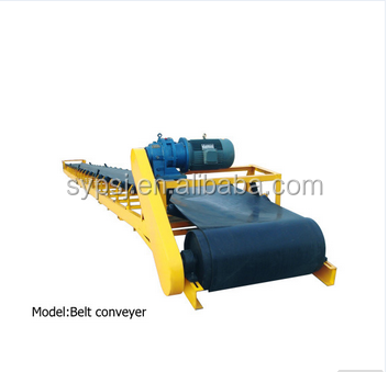 Portable Stone Crusher Belt Conveyor / Used Conveyor Belt For Sale