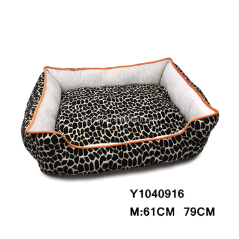 Wholesale New Design Printing Velboa Dog Bed, Pet Bed, Cat Bed