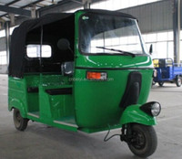 Chinese cheap 200cc enviromental bajaj taxi triciclos for passenger