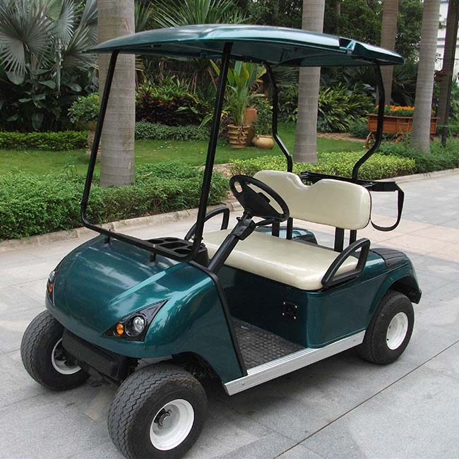 Electric wholesale golf carts for sale with CE certificate (China) DG-C2