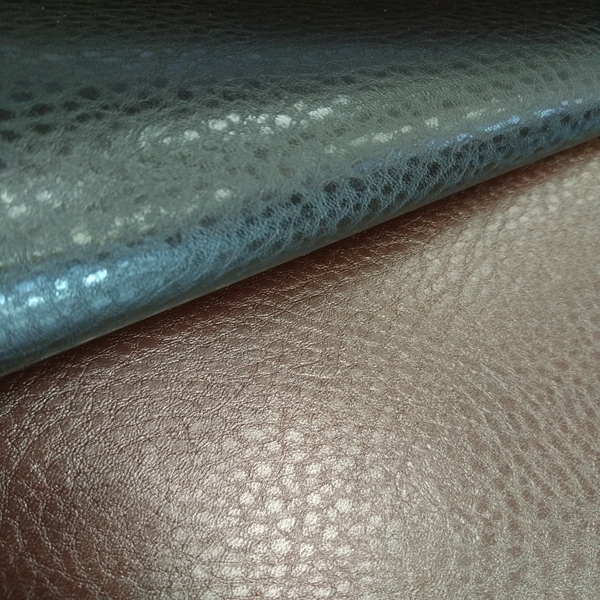 Best Quality Classical Pu Sofa Leather Cover Material Black (AR107)