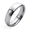 Jewelry Comfort Fit Tungsten Wedding Ring 6mm With Free Engraving